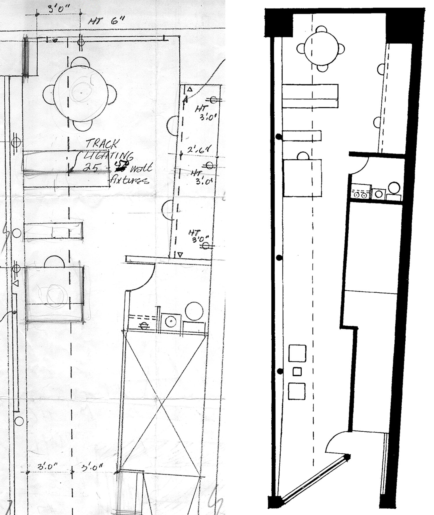 316 East 53rd Street Studio Plan