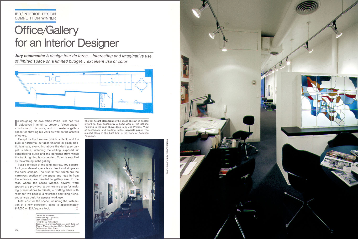 Interior Design Magazine Article (9/76) pg.150; 316 East 53rd Street Stud