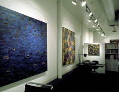 316 East 53rd Street Studio View 6; Paintings: Giuseppe San Filipo