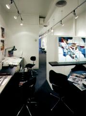 316 East 53rd Street Studio View 2; Photo: Jaime Ardiles-Arce; Stained Glass: Kathleen Ferguson-Tusa