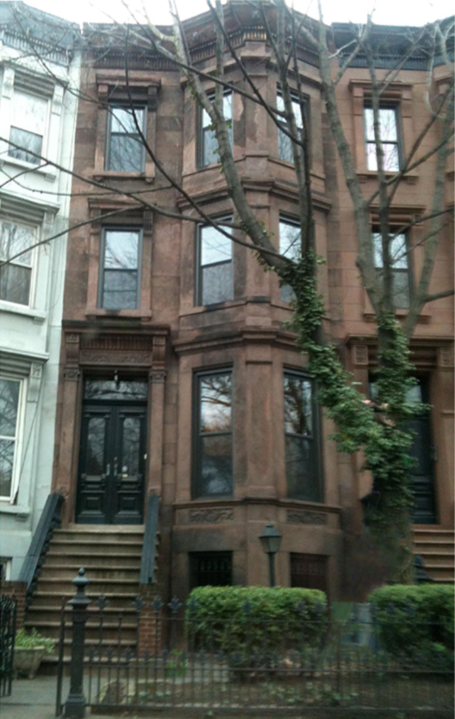 129 Clinton Avenue Rowhouse