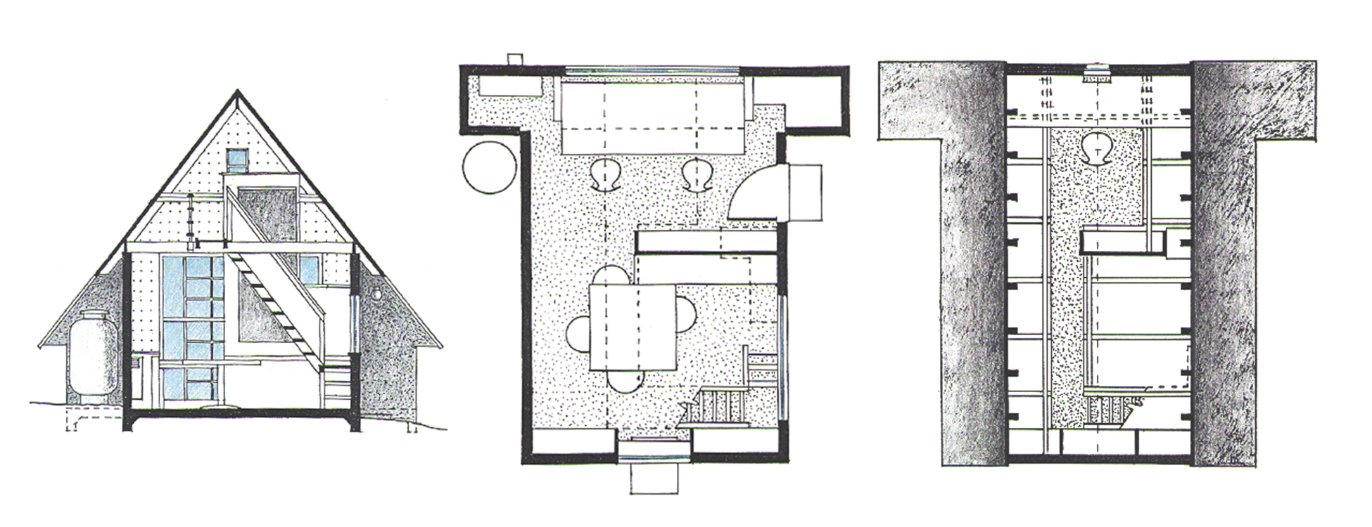 Croton Studio Plans & Section