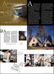 Architecture for Architects Book (2006) pg 22; Croton Studio