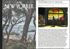 New Yorker Magazine (7/31/17) pg15; Coney Island USA  Freak Bar