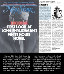 New York Magazine Review (5/10/76) page 86; Fruity's Restaurant