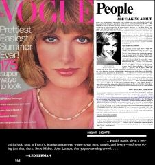 Vogue Magazine Review (5/76) pg 168; Fruity's Restaurant