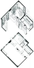 Gallucci Photography Studio Plan & Anoxometric Drawing