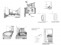 Roosevelt Island Apartment Design Development Sketches