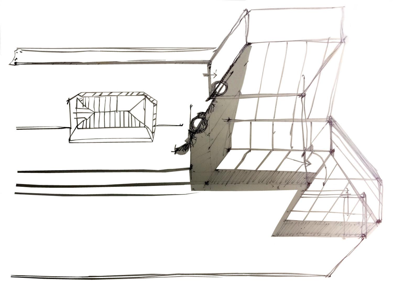 Staten Island Firehouse Schematic Sketch 2