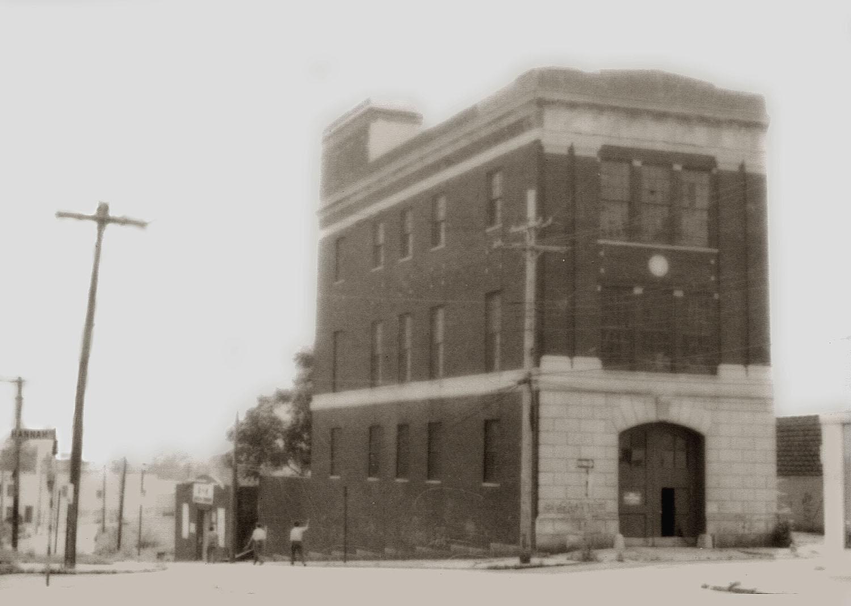 Staten Island Firehouse 154 circa 1970's