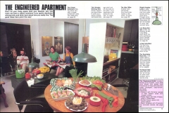 Apartment Life Magazine Article (5/76) Pgs.60+61; Photo: Bradley Olman