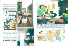 Apartment Life Magazine Article (5/76) Pgs.62+63; Photos: Bradley Olman