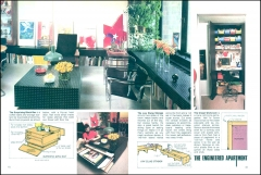 Apartment Life Magazine Article (5/76) Pgs.64+65; Photos: Bradley Olman