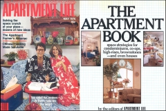 Apartment Life (5/76) & The Apartment Book (1979) Covers